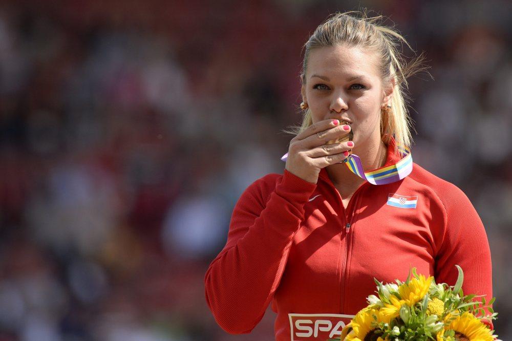 SWITZERLAND ATHLETICS EUROPEAN CHAMPIONSHIPS