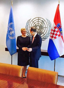 Dan žena: Predsjednica RH u UN-u istaknula pionirsku ulogu M. J. Zagorke