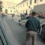 Branitelji èekali Milanoviæa pod suncobranima na Markovu trgu