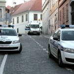 Policija blokirala Markov trg