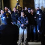Policija pokušala ukloniti skupinu branitelja s Markovog trga i iz crkve Sv.Marka