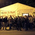 Prosvjed branitelja u Savskoj