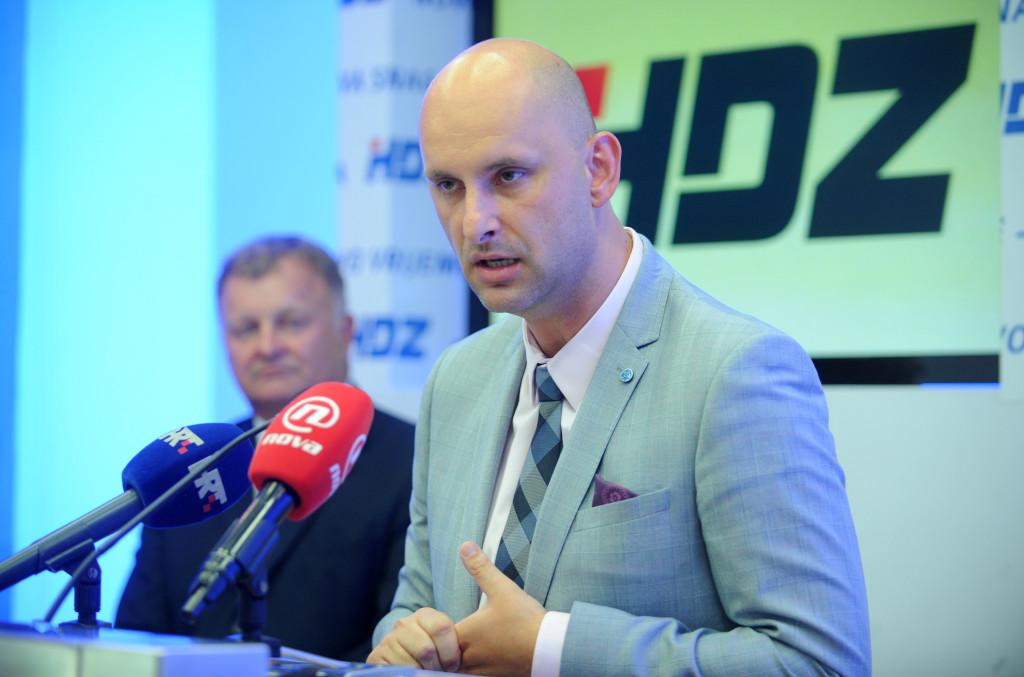 Konferencija za medije HDZ-a
