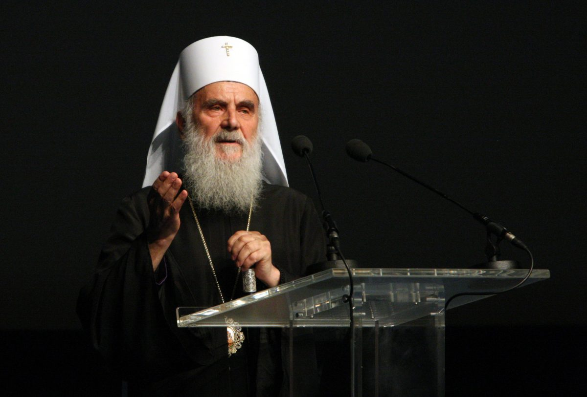 srpska pravoslavna crkva irinej