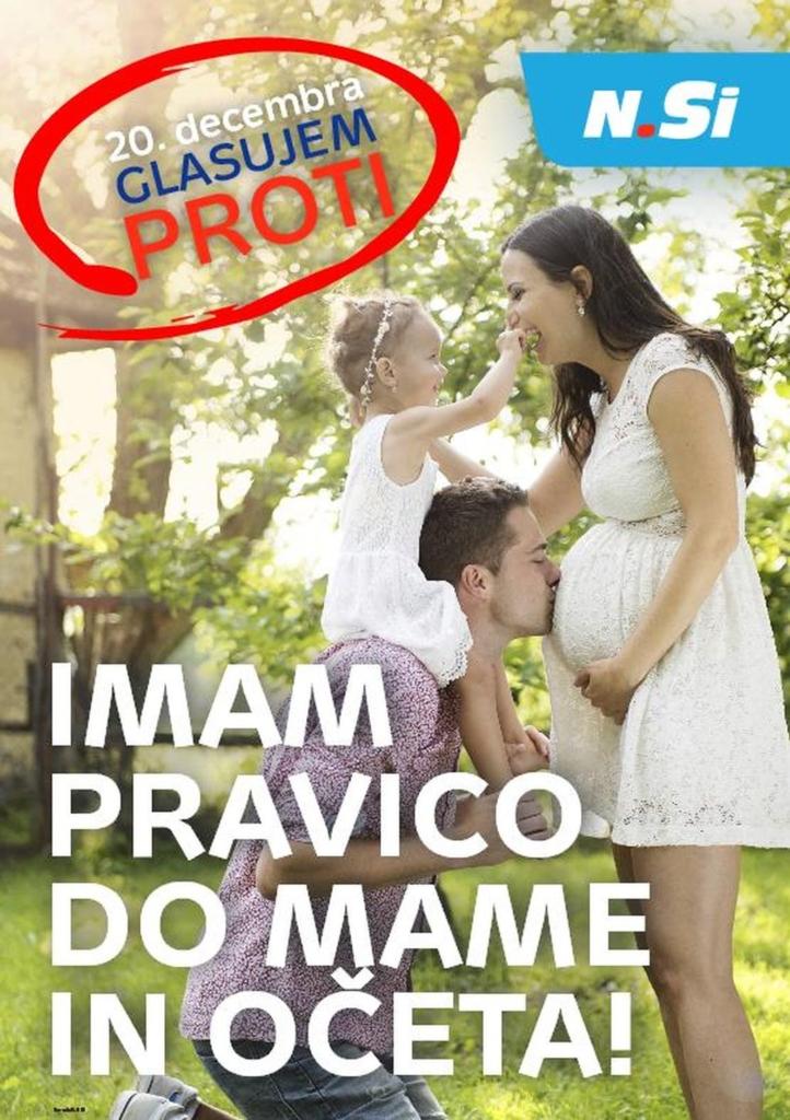 Referendum u Sloveniji za brak žena plus muškarac
