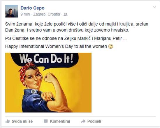 Dario Cepo facebook