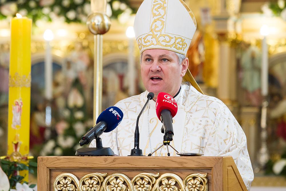 Image result for biskup košić uskrs