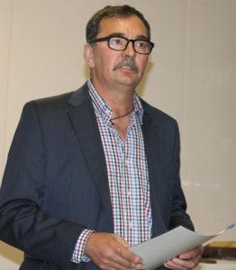 Stjepan Domaćinović u ime HNES pozdravio je Hrvate u Frankfurtu