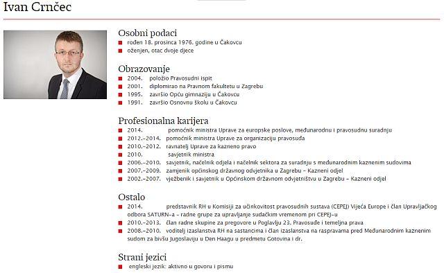 CV Ivana Crnčeca