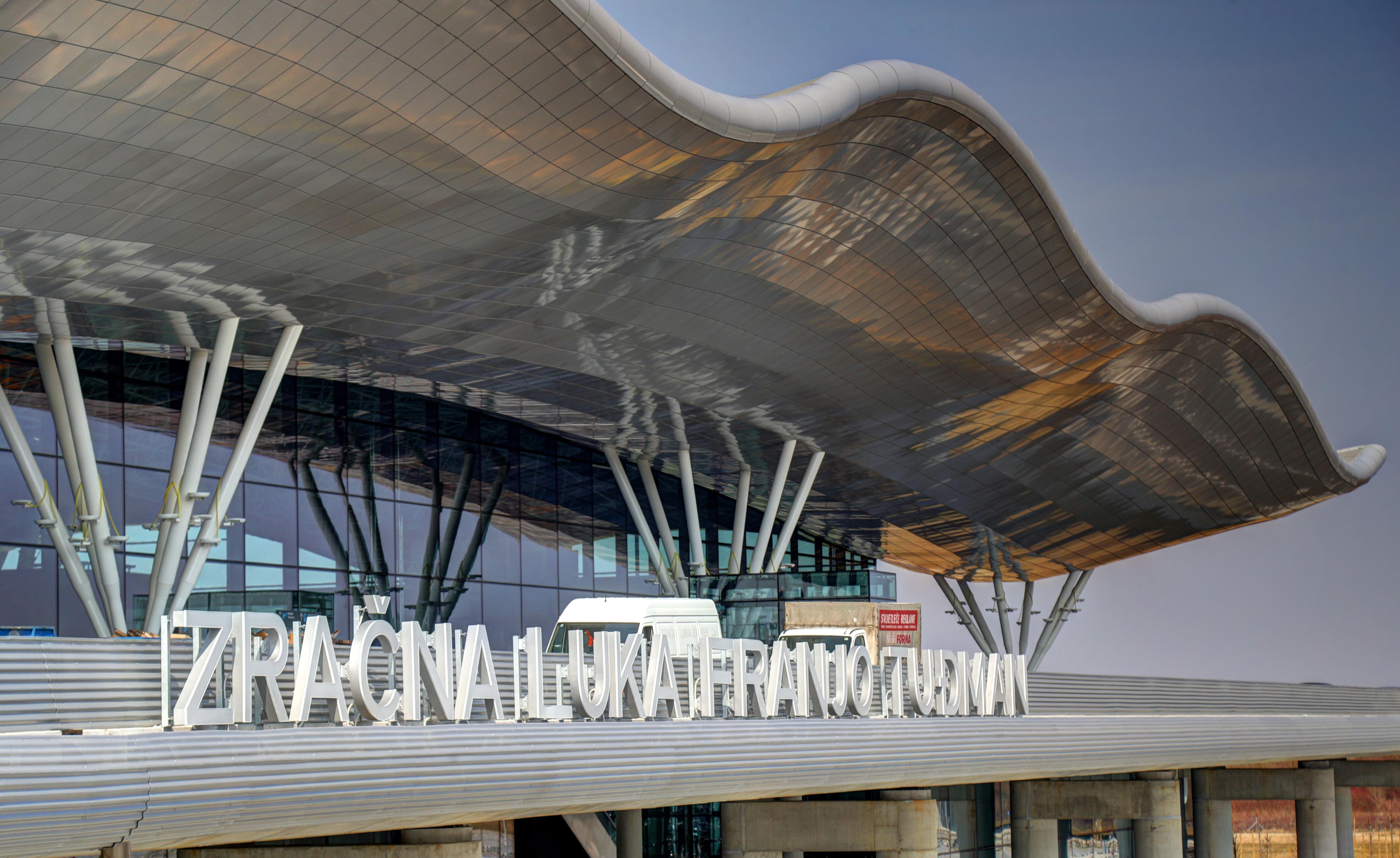 Foto Zagreb Prve Fotografije Nove Zracne Luke Dr Franjo Tuđman Narod Hr