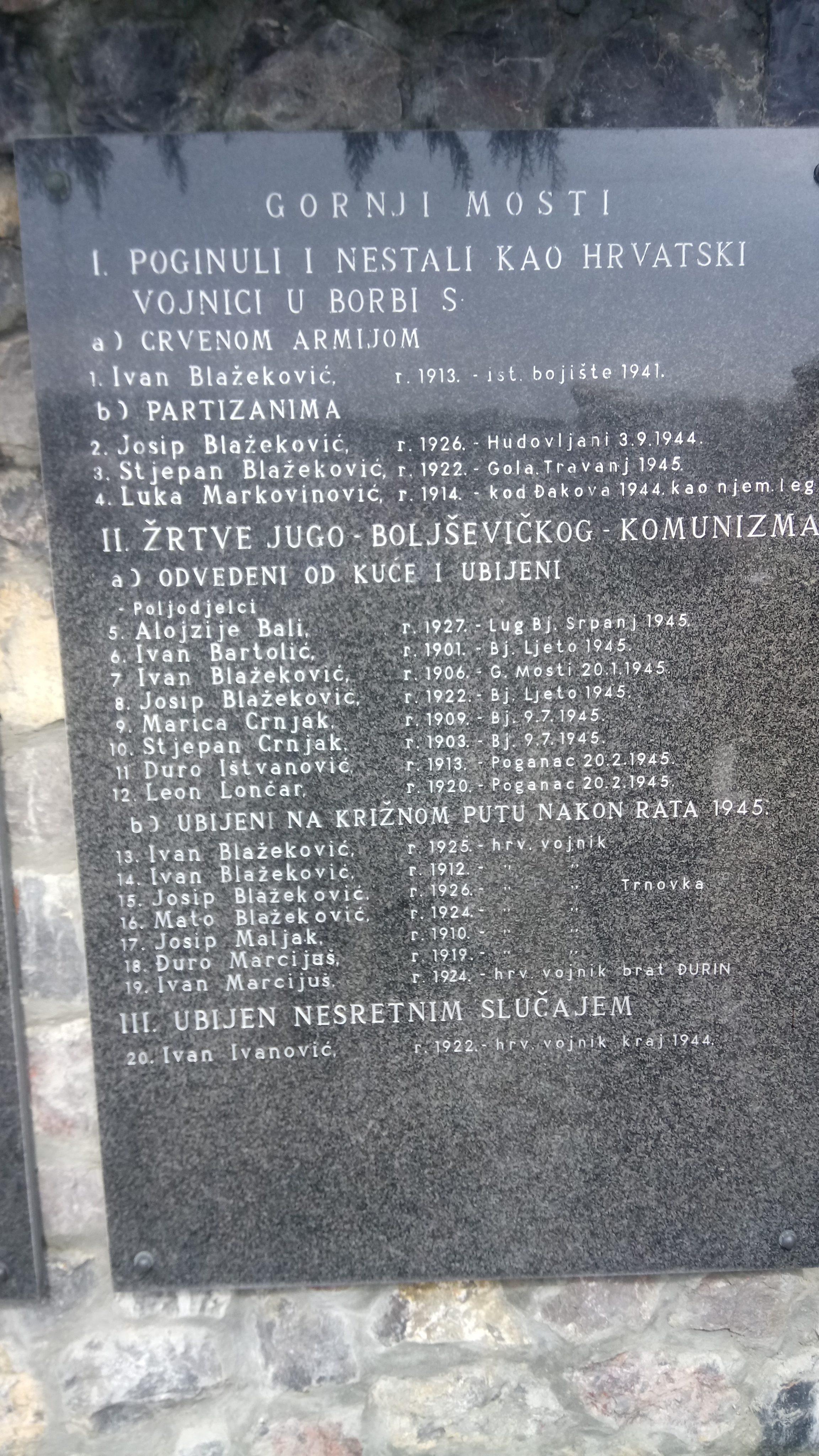 Foto Zločin Konjičkog Puka Car Dušan Silni Nad Hrvatskim