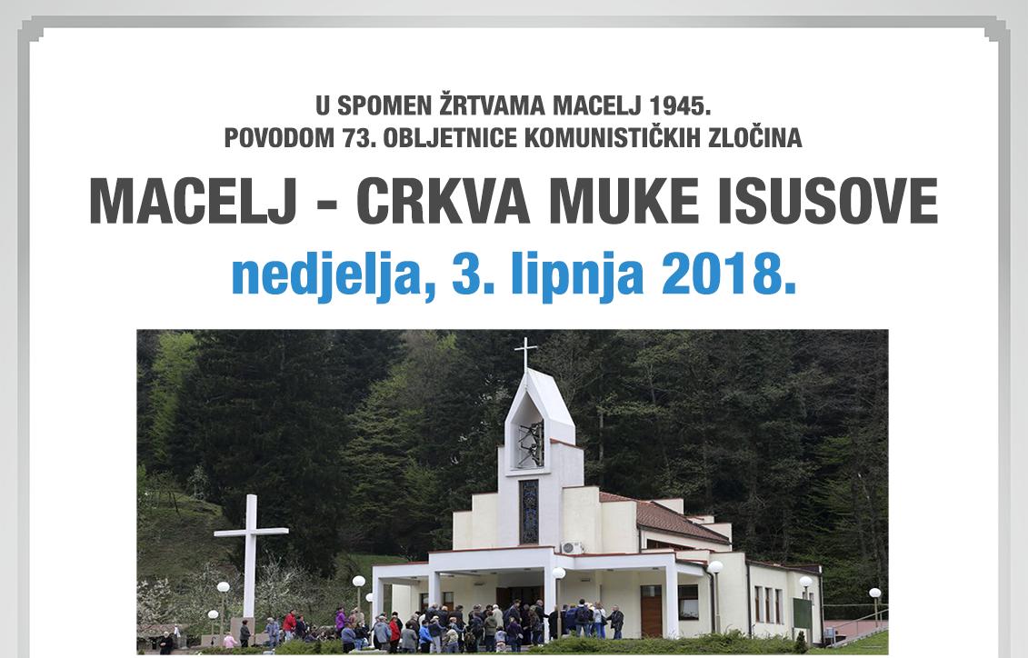 Ovako možete na Macelj u nedjelju 3.lipnja 2018.