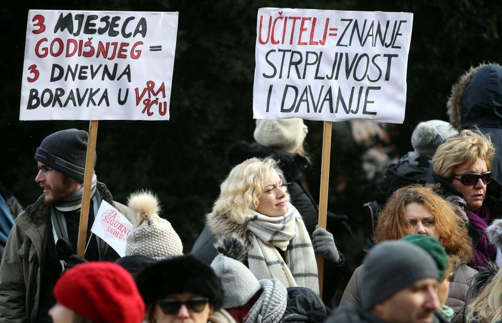 Biti učitelj u Hrvatskoj: Niske plaće, negativna selekcija