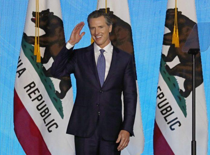 guverner Kalifornije Gavin Newsom