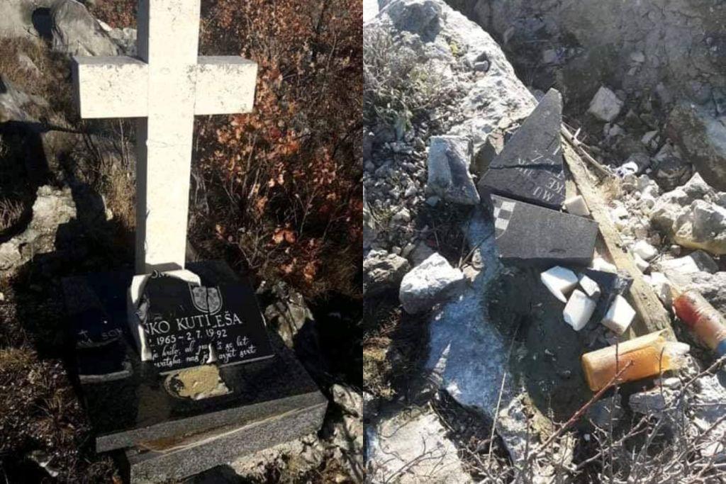Foto Unisten Spomenik Hrvatskim Braniteljima Kod Dubrovnika Na