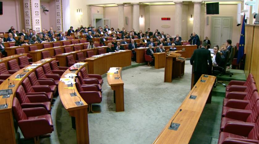 Sabor: Glasovanje o Prijedlogu državnog proračuna