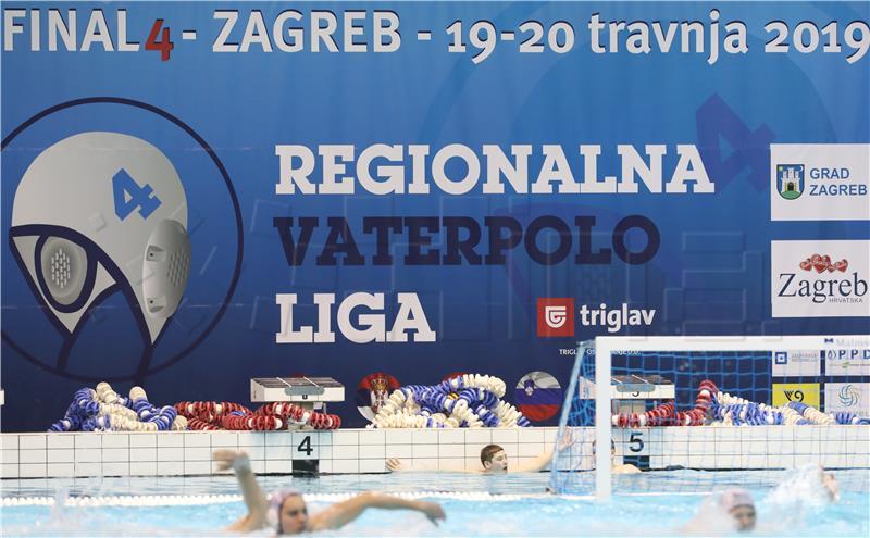 Zagreb dominacija Medal table: