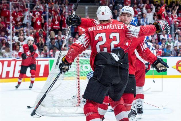 (FOTO) Svjetsko prvenstvo hokej na ledu: Pobjede Slovaka i Danaca za peto mjesto