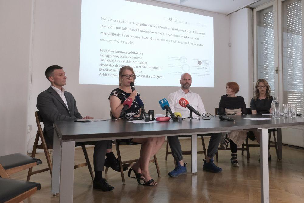 Arhitekti Izmjene Zagrebackog Urbanistickog Plana Nisu U Skladu S