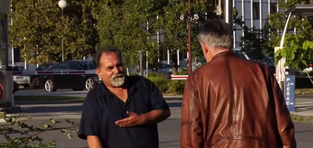 (VIDEO) Pogledajte kako je Pervan upozorio Škoru: 'Nemoj ići lijevo!