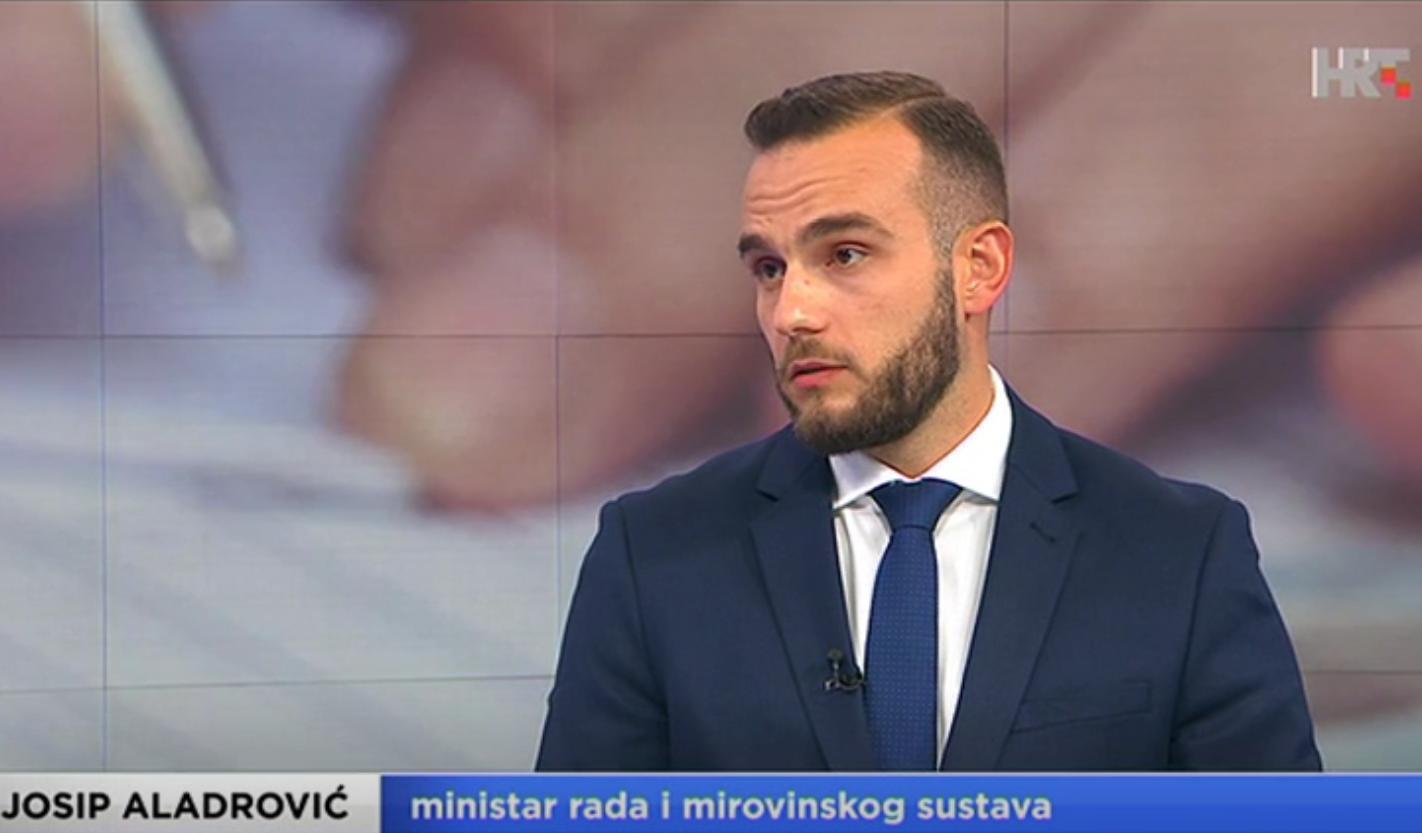 (VIDEO) Ministar Aladrović: 'Velika većina mirovinske reforme je prihvaćena'
