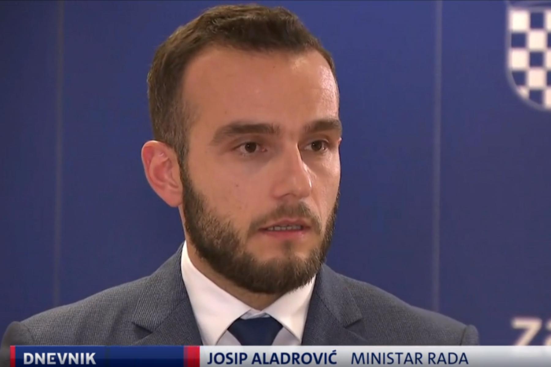 Ministar Aladrović poručio sindikatima: 'Nećemo platiti dane u štrajku nakon petka'