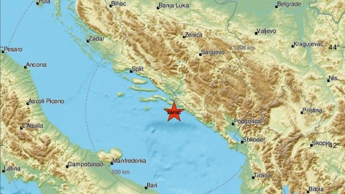 Jak potres kod Mljeta: Osjetili su ga i stanovnici Dubrovnika i okolice