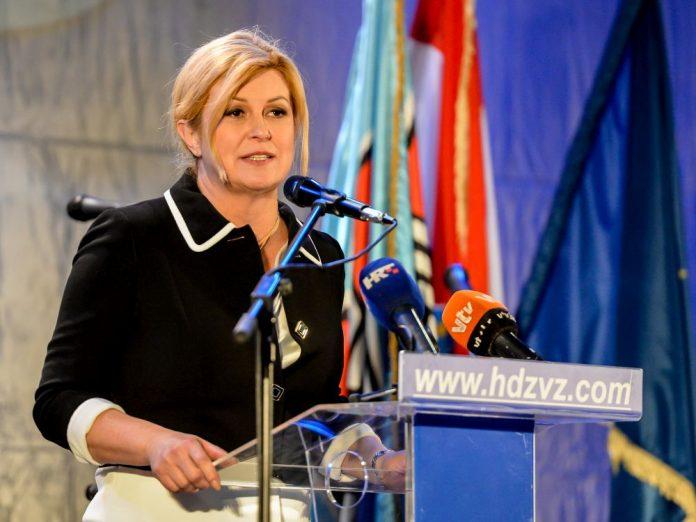 Predsjednica u Varaždinu: 'Prije 5 godina Hrvatska je bila na koljenima, a danas je jedna od najprepoznatljivijih zemalja u svijetu' HN20191204374804-696x522