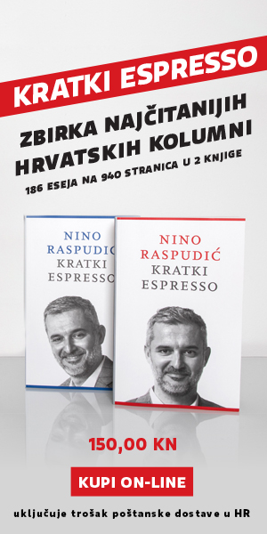 Kratki espresso Nino Raspudić