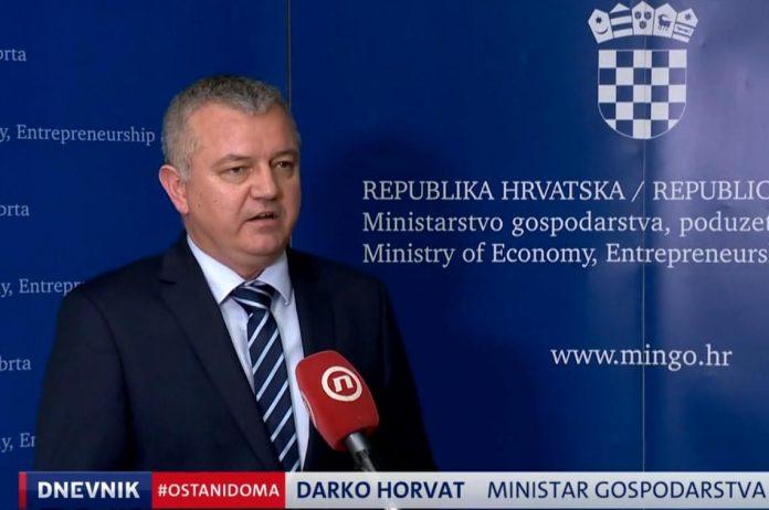 ministar darko horvat