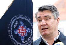 Zna li 'legalist' Milanović da u zakonu piše da je HOS dio Oružanih snaga Republike Hrvatske i da ima ogromne zasluge u obrani Hrvatske?