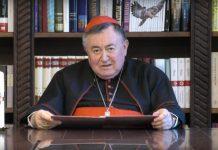 Hajka na kardinala Puljića zbog mise zadušnice za žrtve Bleiburga ne prestaje: Youtube korisnik mu virtualno sjekirom 'razbio glavu'