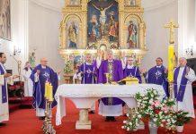 (FOTO) Biskup Košić: 'Bleiburg je simbol najvećeg stradanja Hrvata u povijesti, početak smaknuća stotina tisuća Hrvata'