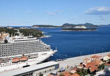 Kruzer s hrvatskim pomorcima uplovio u Dubrovnik