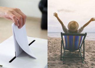 glasovanje odmor