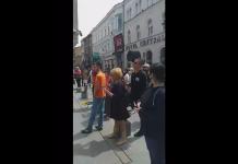 (VIDEO) Čovjek koji je na sarajevskim ulicama prijetio kardinalu Puljiću samo prekršajno prijavljen te i dalje na slobodi