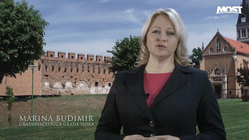 (VIDEO) Gradonačelnica Iloka Marina Budimir koja je pobijedila HDZ izlazi na izbore kao neovisna kandidatkinja na listi Mosta