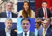 Tko su kandidati 4 najveće stranke u I., II. i III. izbornoj jedinici