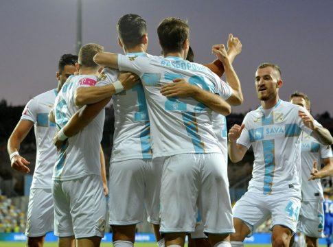 (FOTO) Rijeka pobjedom protiv Dinama preskočila Hajduk i vratila se u utrku za LP