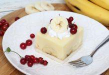 Ukusan desert bez pečenja: Puding kolač s bananama