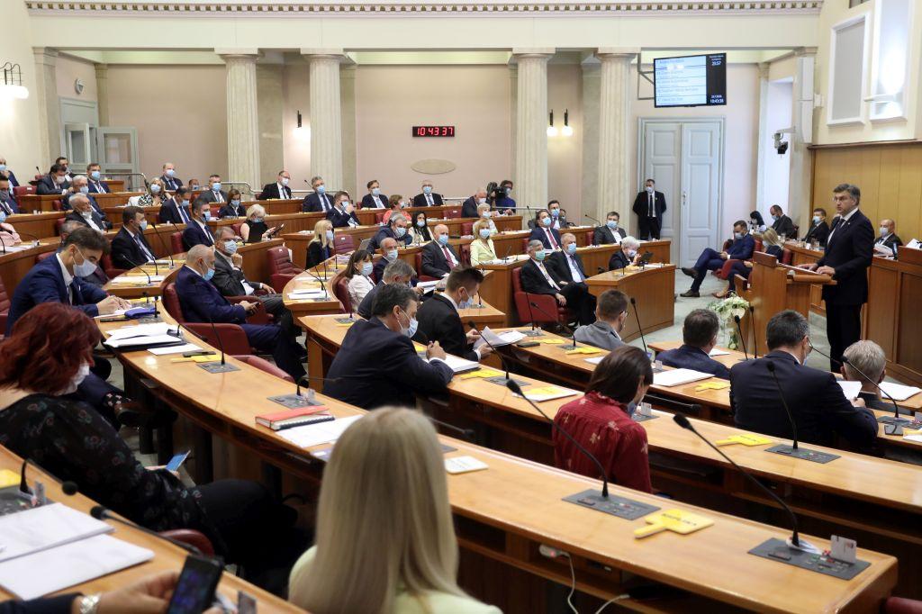 (UŽIVO) Aktualno prijepodne: Zastupnici u Saboru postavljaju pitanja Plenkoviću