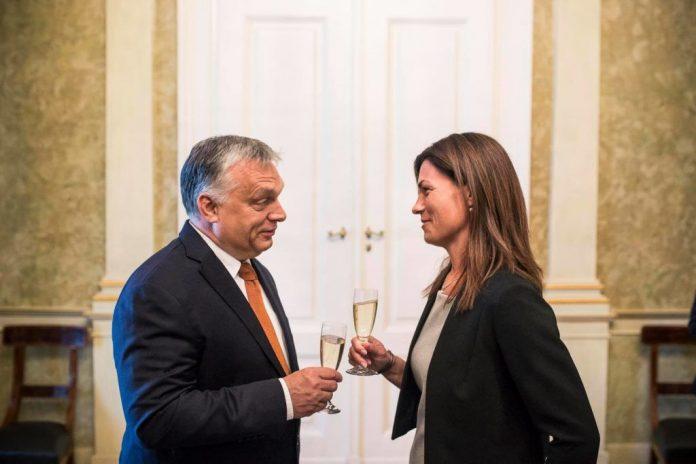 Viktor Orban Judit Varga