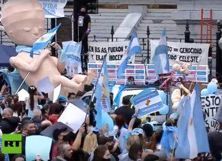 tisuće ljudi u argentini hodalo za život