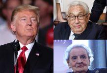 Trump nastavlja sa smjenama u Pentagonu: Razriješeni Kissinger i Madeleine Albright