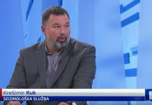 seizmolog Krešimir Kuk