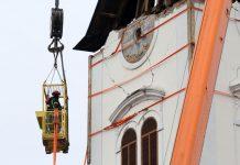 Završne pripreme za skidanje zvonika sisačke katedrale