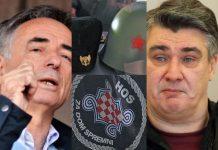 Što Pupovac i Milanović govore o HOS-ovim simbolima, a što o četnicima i njihovim zločinima?