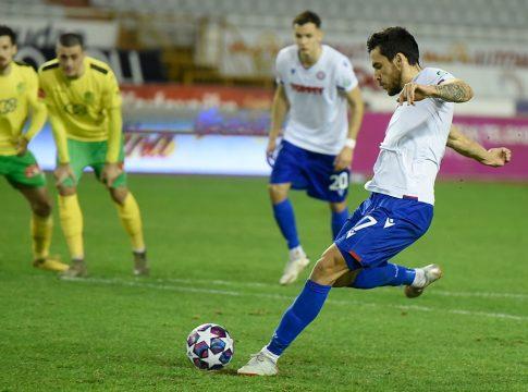Hajduk minimalno slavio u Puli