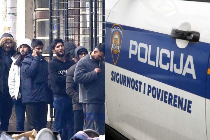 policija imigranti