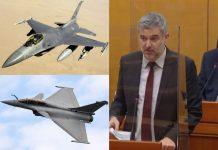 Raspudić: Bi li kupnja borbenih zrakoplova olakšala dobivanje nečije pozicije u EK?
